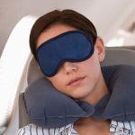 spanie v lietadle