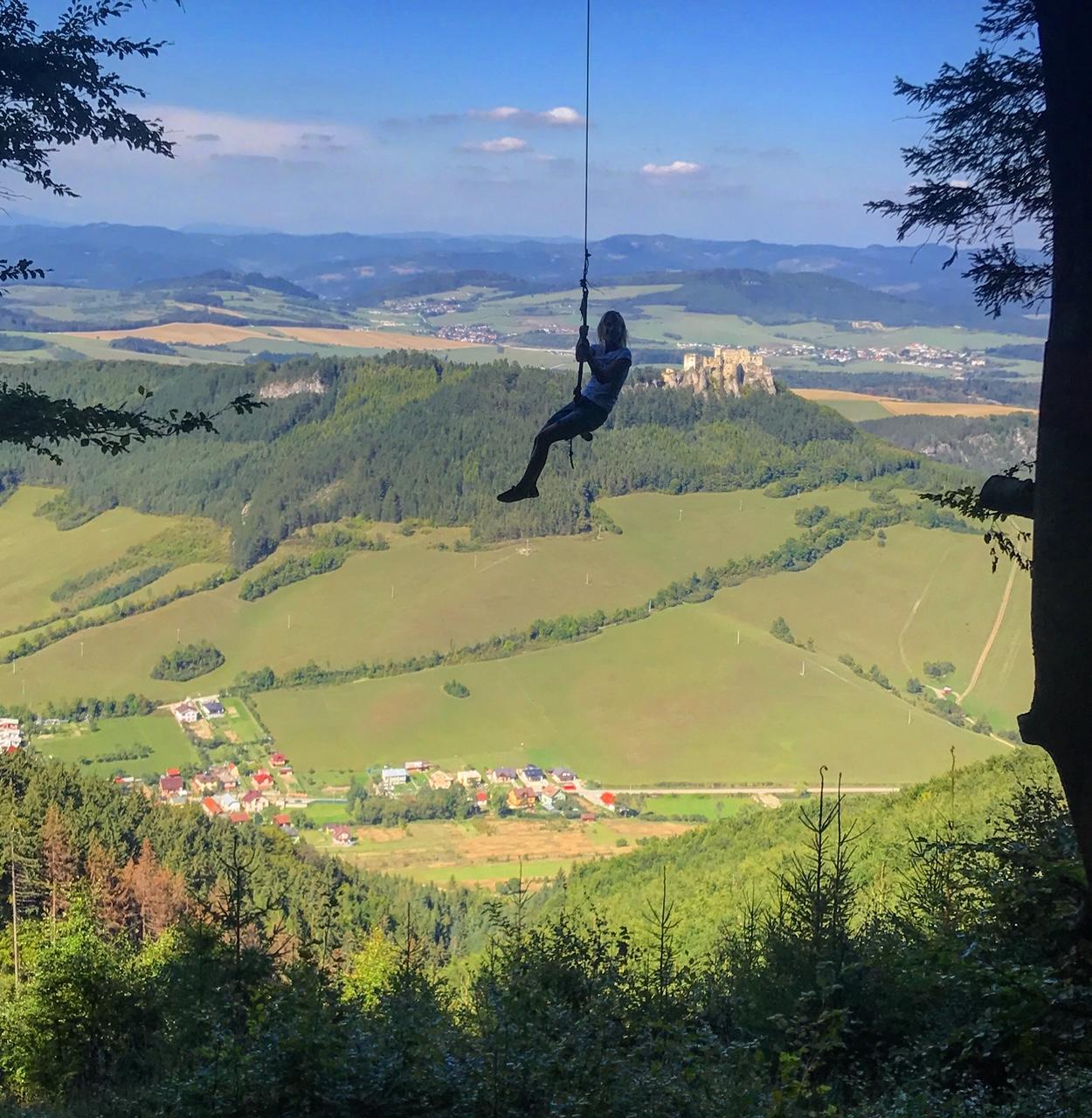 Nádherné výhľady v okolí Žiliny - rozhľadne Dubeň, Špicák, Dubová a hojdačka v Lietavskej Svinnej