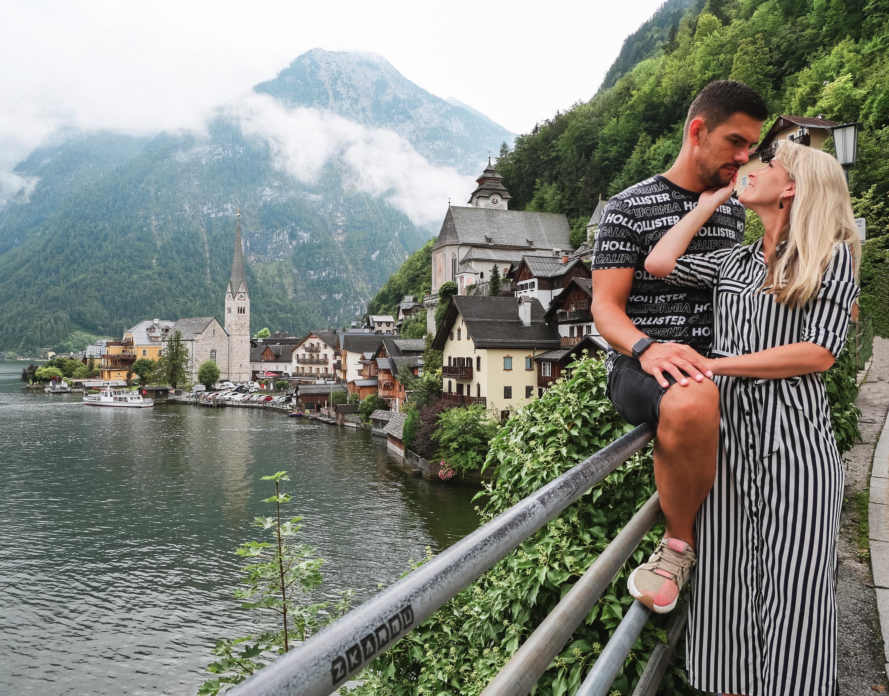 Hallstatt - pôvabné rakúske mestečko ako z rozprávky